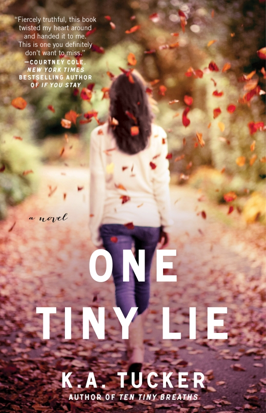 Tucker_One Tiny Lie cover